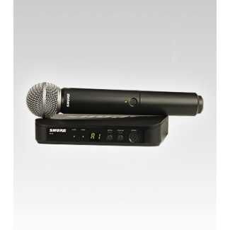 Shure BLX24SM58 Hand-Held Wireless Vocal Mic System