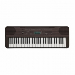 Yamaha PSRE360 Portable Keyboard, Dark Walnut