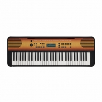 Yamaha PSRE360 Portable Keyboard, Maple