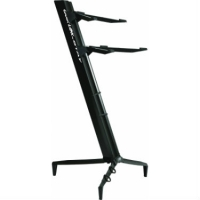 QuikLok Tower Double-tier Keyboard Slant Stand in Black - SL913