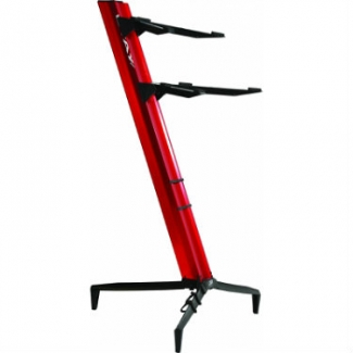 QuikLok Tower Double-tier Keyboard Slant Stand in Red - SL913