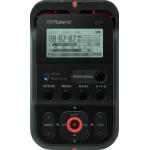 Roland R07 High Resolution Audio Recorder, Black