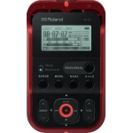 Roland R07 High Resolution Audio Recorder, Red