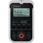 Roland R07 High Resolution Audio Recorder, White