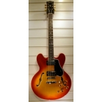 Radiotone ES335 59 Dot Marker Semi Electric Guitar, Cherry Sunburst
