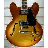 Radiotone ES335 59 Dot Marker Semi Electric Guitar, Heritage Sunburst