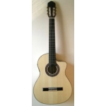 Raimundo 630E Electro Classical Guitar, Inc Stagg Hard Case