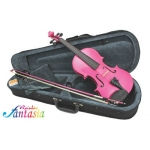 Primavera Rainbow Fantasia Violin Outfit, With Case & Composite Bow (VF171-4)