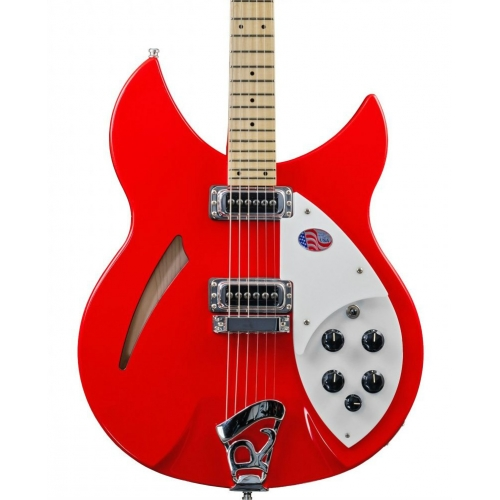 Rickenbacker 330 Limited Edition Guitar in Pillar Box Red with Hard Case