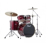 Pearl Roadshow 5 Piece Jazz/Junior Fusion Drum Kit in Wine Red