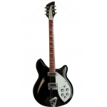 Rickenbacker 360 Electric Semi Guitar in Jetglo