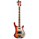 Rickenbacker 4003, 4 String Bass Guitar In Fireglo with Hard Case
