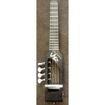 Risa Electric Soprano Ukulele, Black