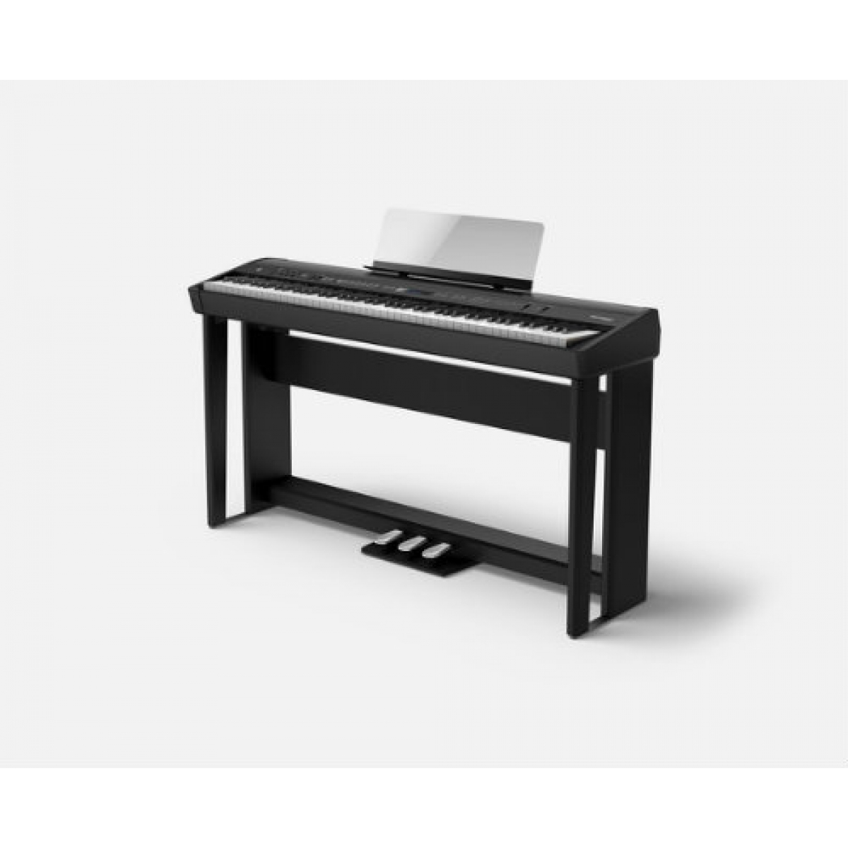 roland fp90 digital piano in black fp90bk at promenade music. Black Bedroom Furniture Sets. Home Design Ideas