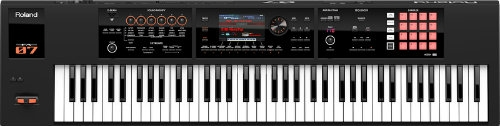 Roland FA07 Workstation - 76 Note Semi-Weighted Synth
