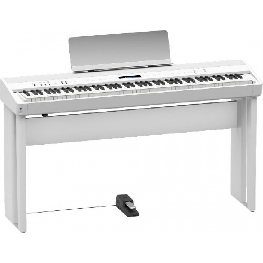 roland fp90 digital piano in white fp90wh at promenade music. Black Bedroom Furniture Sets. Home Design Ideas