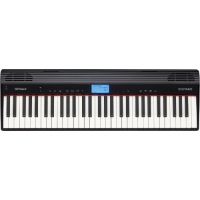 Roland GO PIANO Portable Keyboard Piano in Black (GO61P)