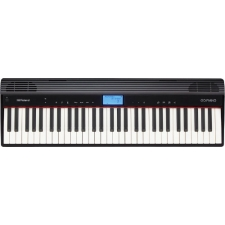Roland GO:PIANO 61 Keyboard Piano in Black (Built-in Speakers) GO61P