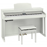 Roland HP603A Digital Piano, White
