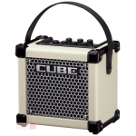 Roland Microcube GX Amp. Battery or Mains Operated, in White
