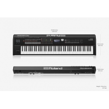 Roland RD2000 Stage Piano in Black