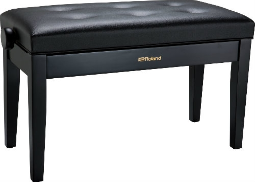 Roland RPB-D300BK Duet Piano Bench with Cushioned Seat