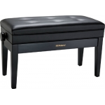 Roland RPB D400BK Duet Piano Bench with Storage Compartment