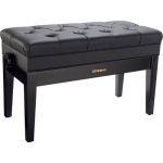 Roland RPB D500PE Duet Piano Bench with Storage Compartment