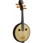 Atlas Ruan, Traditional Chinese Stringed Instrument with Case (GR36028)