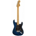 Fender Limited Edition Ash Sandblasted Stratocaster, Saphire Blue