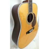 Satori YD42EQ Electro Acoustic Guitar In Vintage Natural, Secondhand