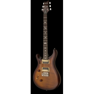 PRS SE Custom 24 'Left' Electric Guitar in Tobacco Sunburst, Lefthanded