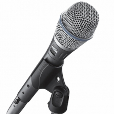 Shure Beta 58A Supercardioid Dynamic Vocal Microphone with Clip & Bag