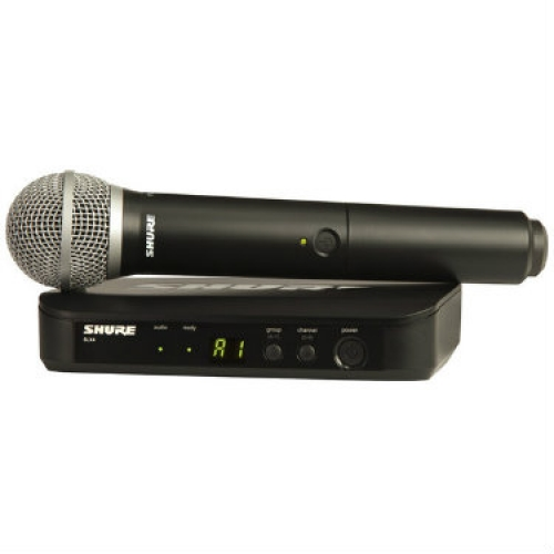 Shure BLX24/PG58 Handheld Wireless System with PG58A Microphone
