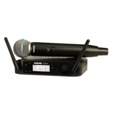 Shure GLXD24/B58 Vocal Digital Wireless System with Beta 58A Microphone