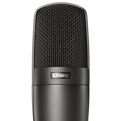 Shure KSM32 Cardioid Condenser Microphone in Charcoal with Case