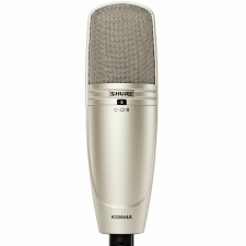 Shure KSM44A Large Diaphragm Multi-Pattern Condenser Mic with Case