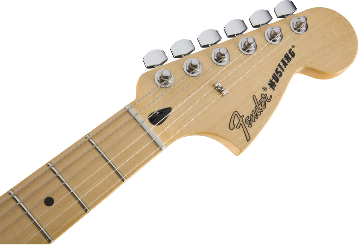 fender mexican made mustang electric guitar olympic white 0144042505 at promenade music. Black Bedroom Furniture Sets. Home Design Ideas