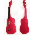 Ohana SK10CR Soprano Ukulele In Cherry Red Uke