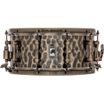 """Mapex Black Panther 'The Sledge Hammer' 14""""x6.5"""" Hammered Brass Snare Drum"""