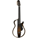 Yamaha SLG200N Silent Guitar, Nylon Strings, Tobacco Brown Sunburst