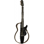 Yamaha SLG200N Silent Guitar, Nylon Strings, Translucent Black