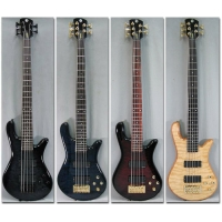 Spector Legend Custom 5 String Bass in Trans Black, Secondhand