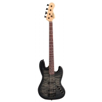 Spector Coda 5 Pro Five String Bass, Trans Black