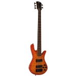 Spector Legend Custom 5 String Bass in Amber