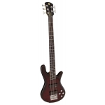 Spector SP5BK Performer 5 String Bass Guitar in Black Cherry