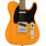 Squier Bullet Telecaster Electric Guitar in Butterscotch Blonde