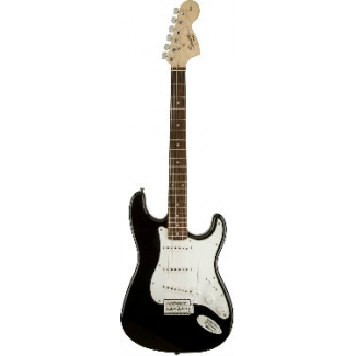 Squier Affinity Series Stratocaster Electric Guitar in Black