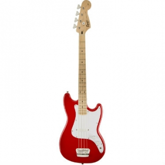Squier Bronco Bass, Torino Red