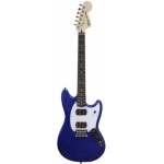 Squier Bullet Mustang HH Electric Guitar in Imperial Blue